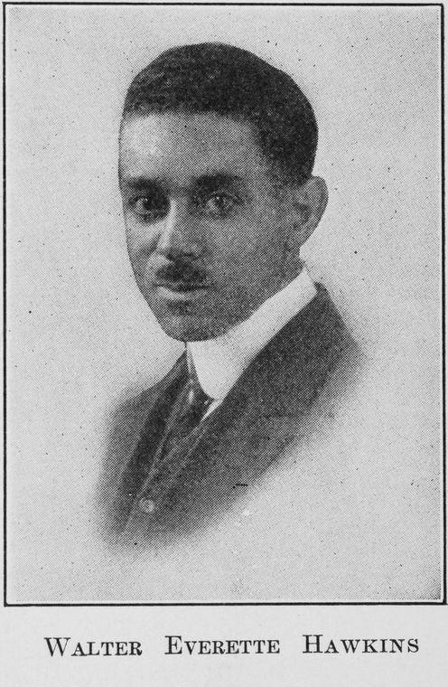 Walter Everette Hawkins portrait photograph